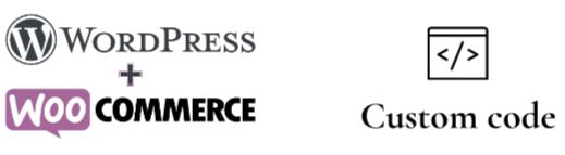 Wordpress Woocommerce logotypes